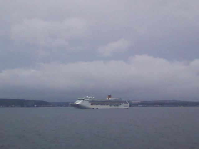 морское-телевидение: Круизный лайнер