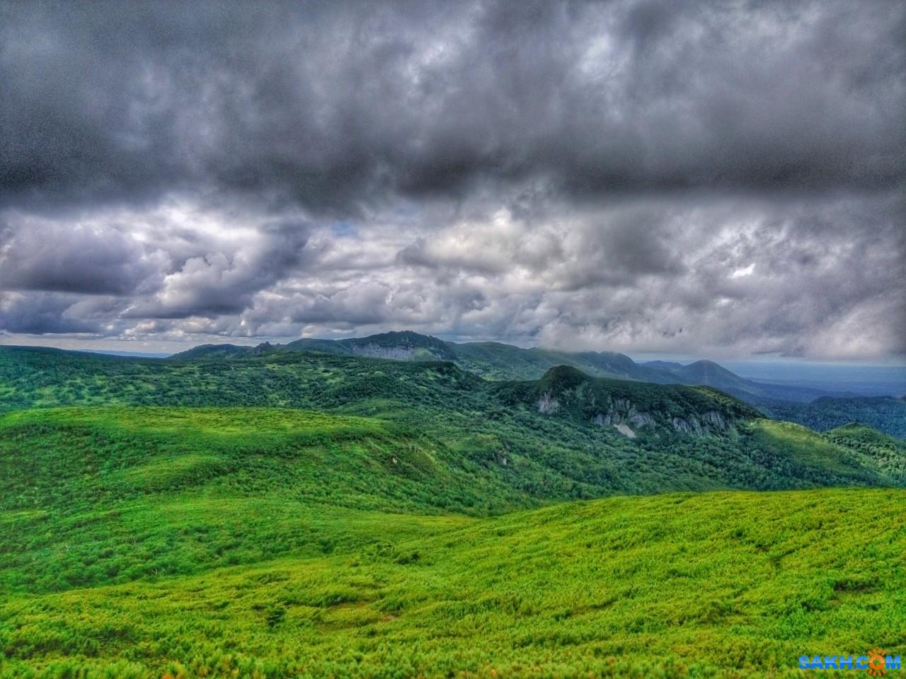 uver: Горизон с Набильских гор