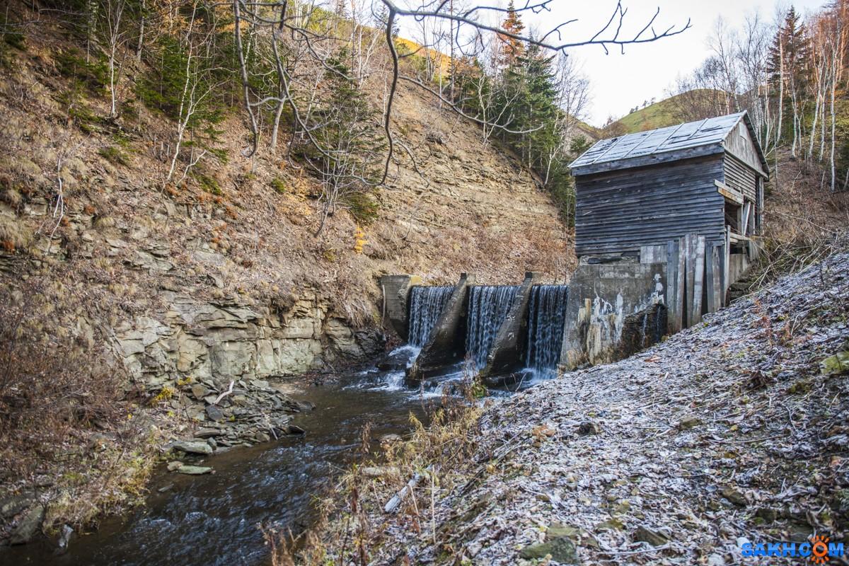 IVANICH: Старый водозабор на реке Невельская