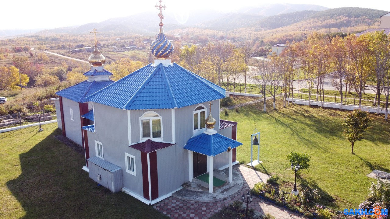 кусок_добра: Томари, Храм