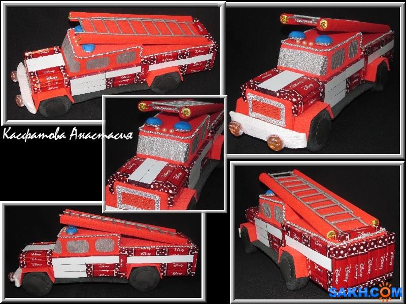 Воскресшая: пожарная машина