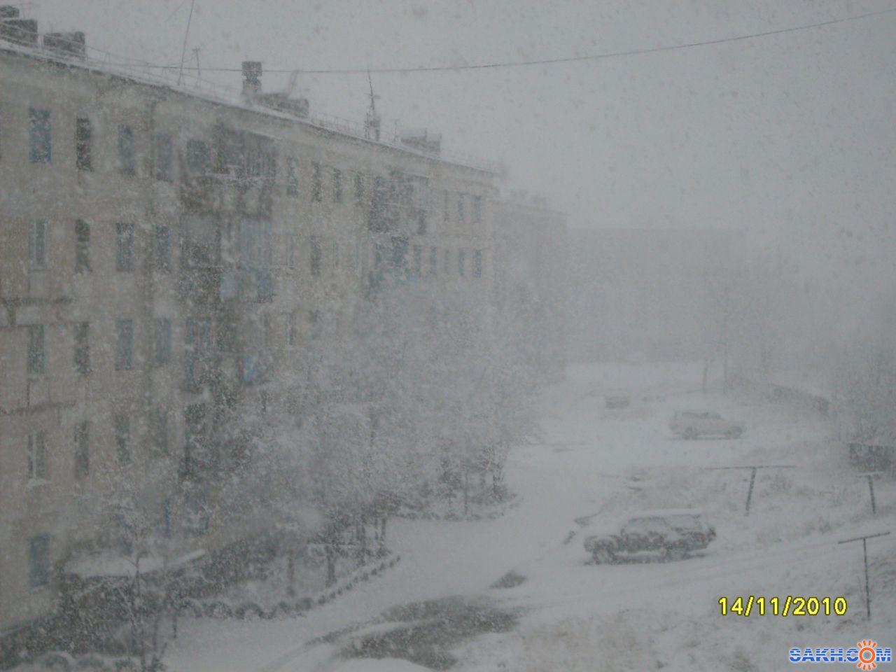 mrnsin: Снег-снежок....мокрая метельца!