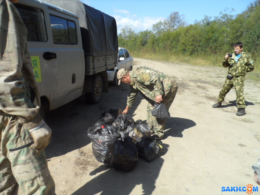 СмирЛес: уборка мусора 2019 г.