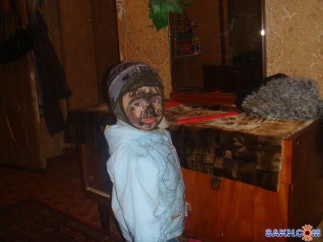 """charin_76: Я родился в год свиньи""""моя первая лужа"""""""