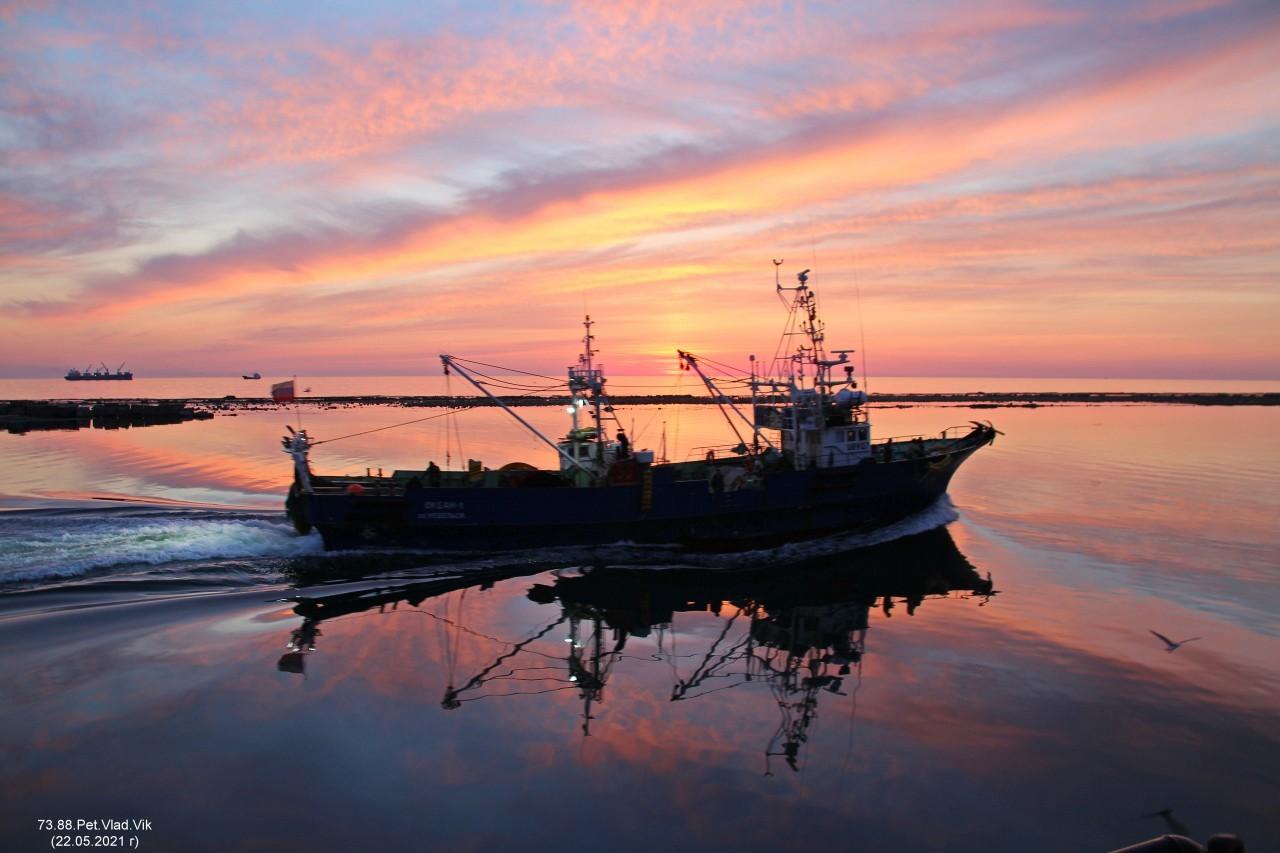 7388PetVladVik: Морские картинки. На закате дня.