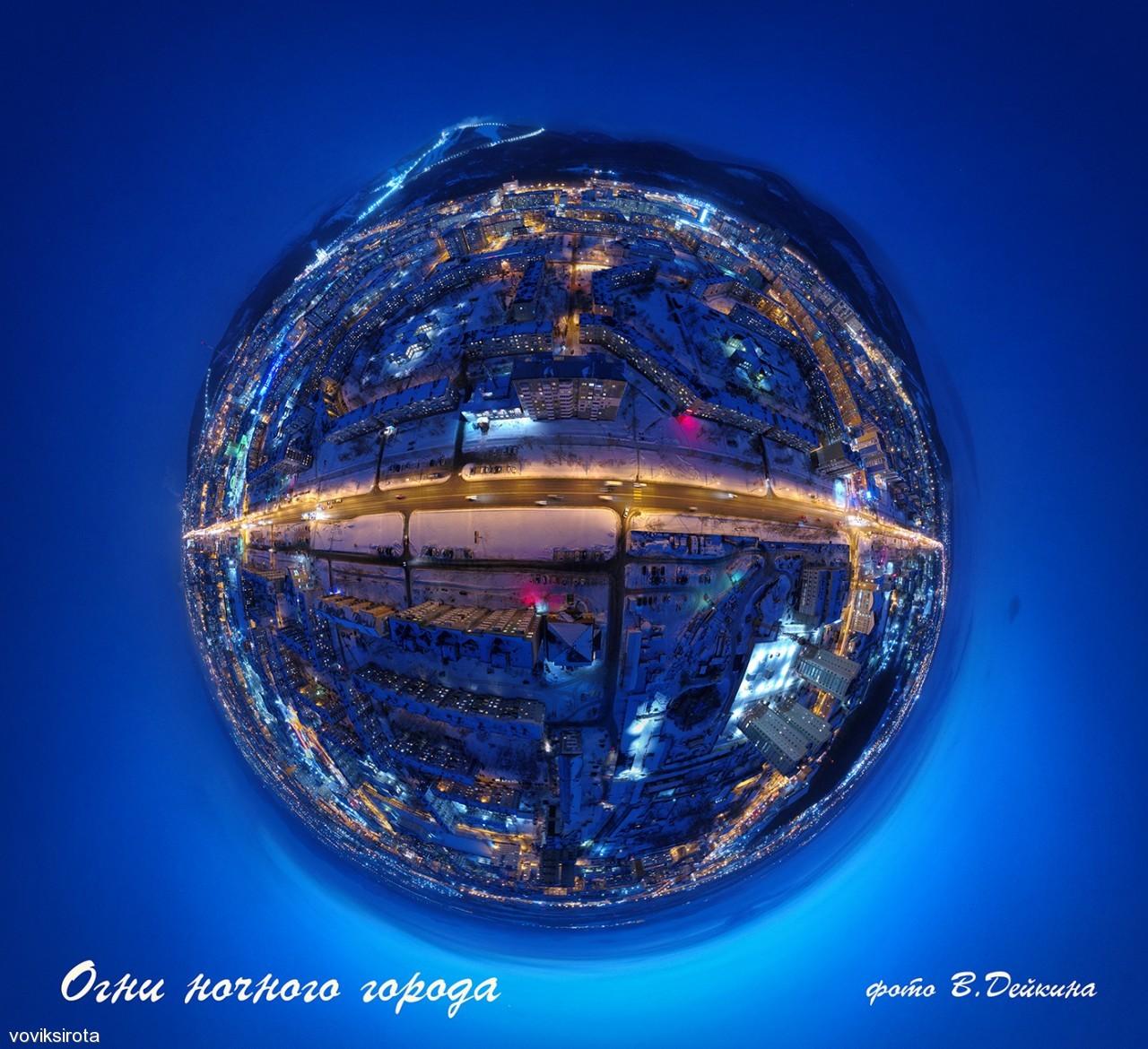 voviksirota: Огни ночного города