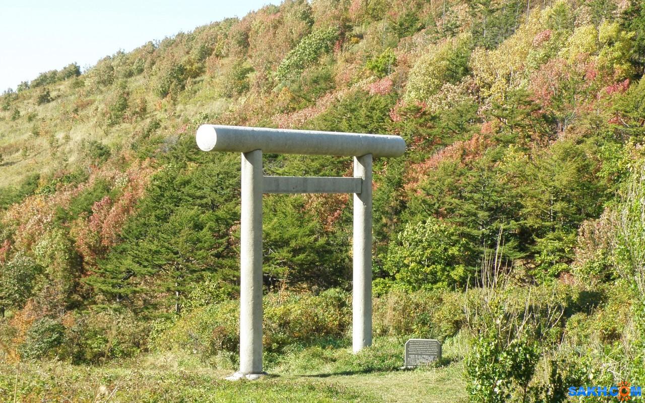 tasya: Тории перед непосредственным входом в храм, японских времен