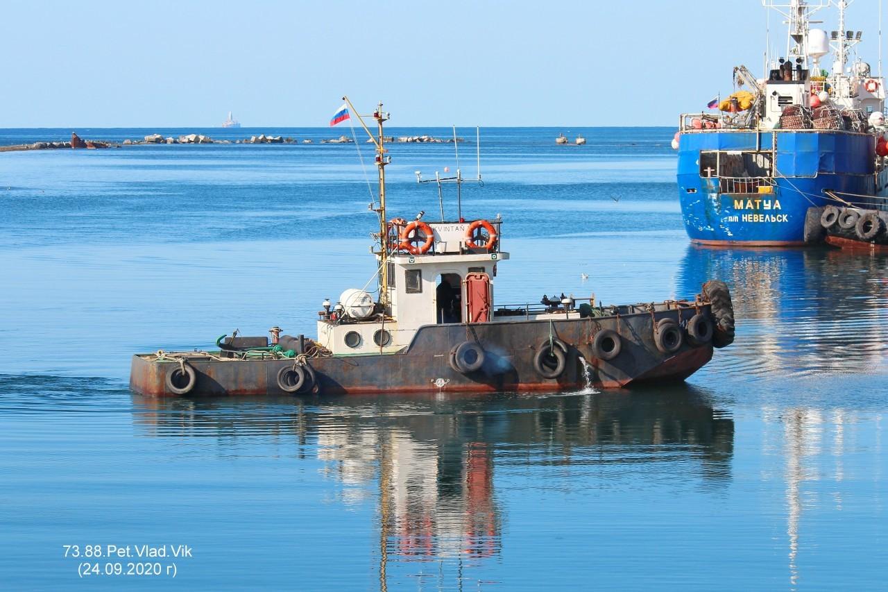 7388PetVladVik: КВИНТАН.    (Порт  Невельск).