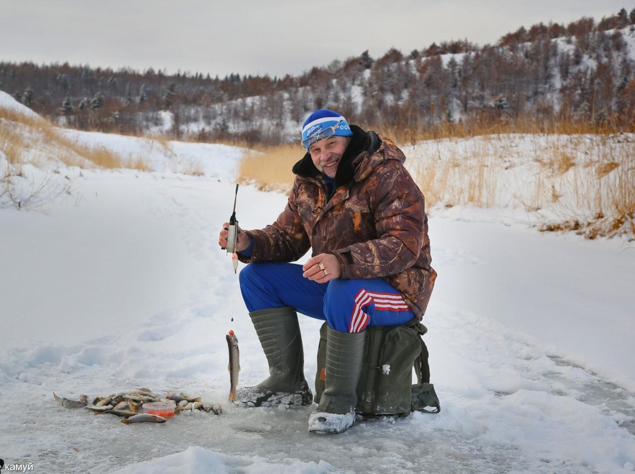 камуй: На зимней рыбалке