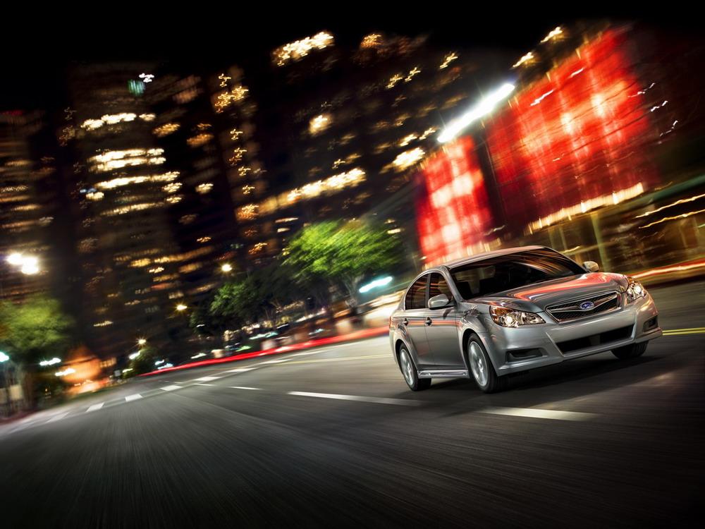 Фотогалерея Subaru Legacy 2010.