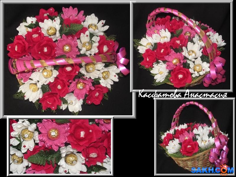 Воскресшая: розы и хризантемы