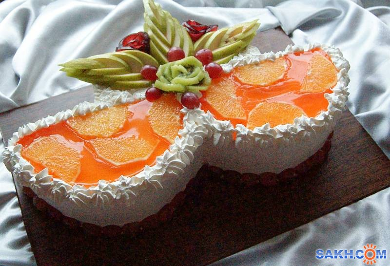 Желе с фруктами на торт рецепт с пошагово