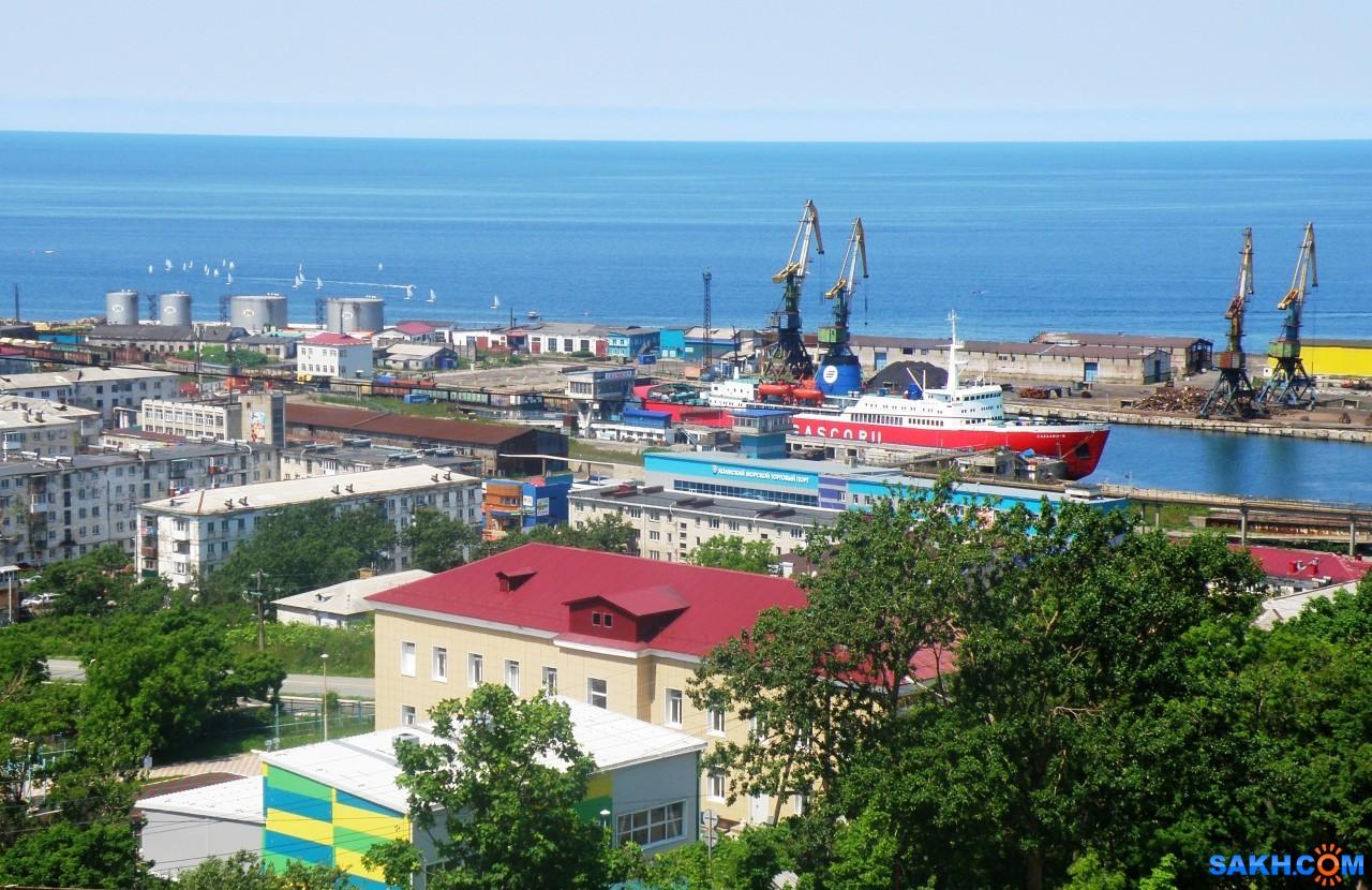 tasya: Вид на торговый порт