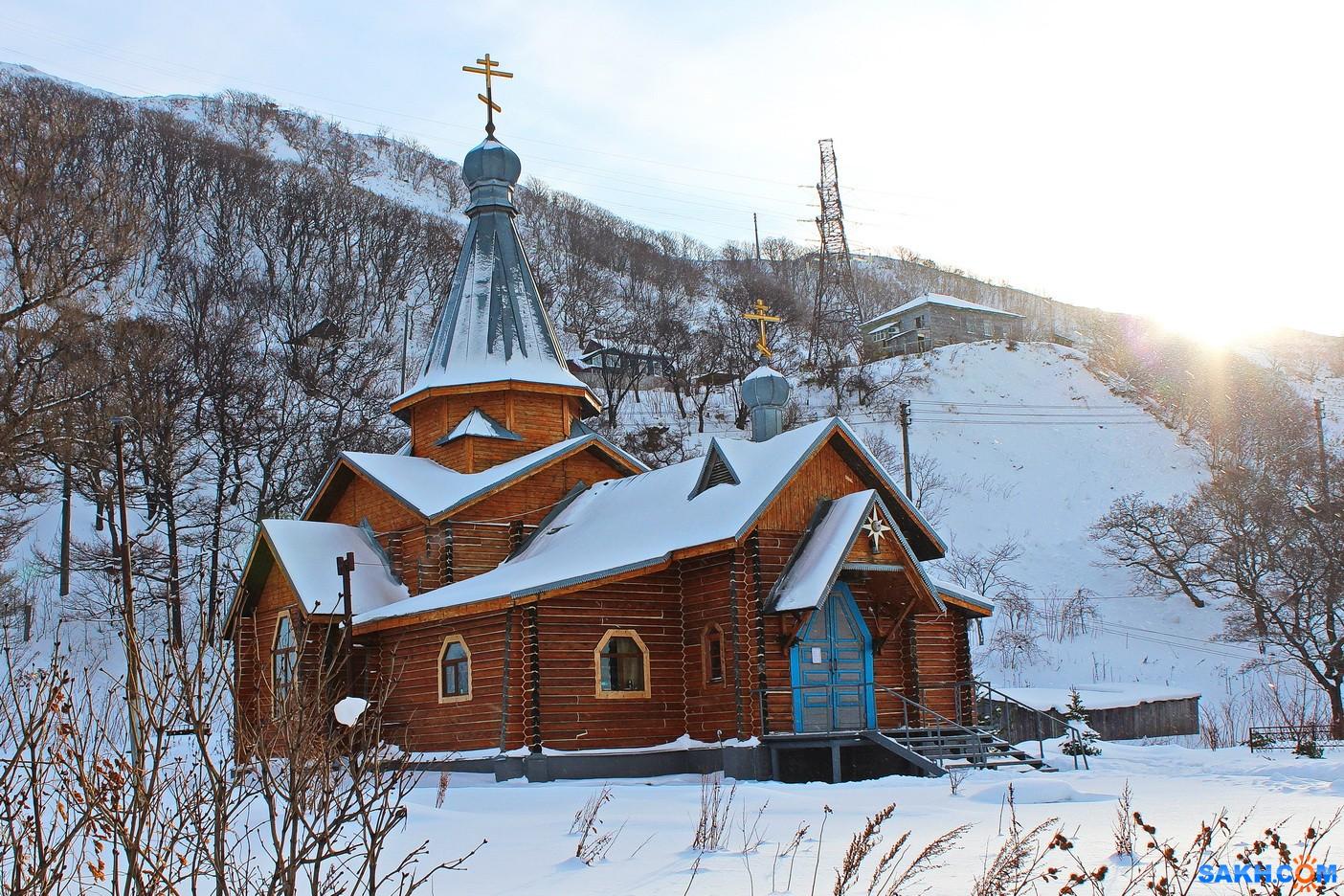 7388PetVladVik: Храм в Невельске.