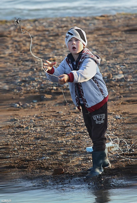 камуй: Юный рыбак.
