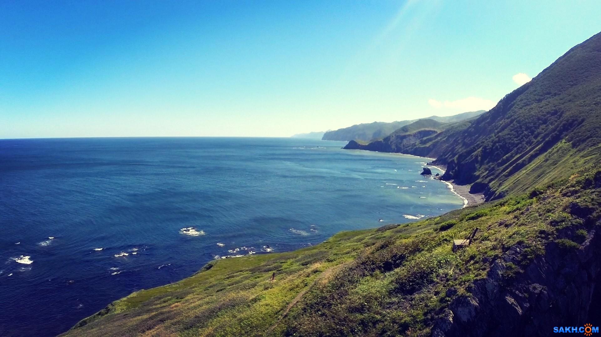 uver: Вид на юг с мыса св.Елизаветы полуострова Шмидта