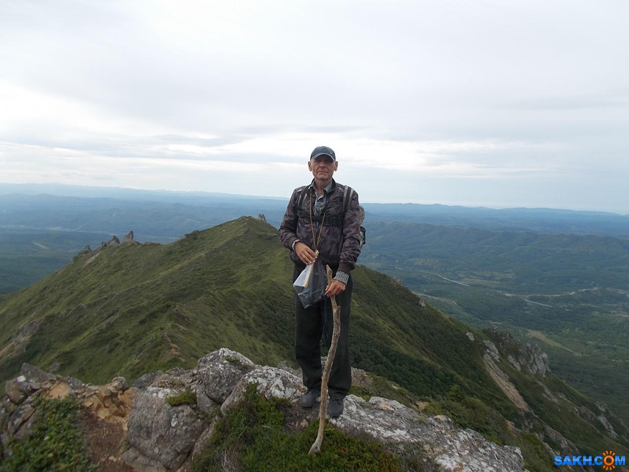 Valery: На вершине горы Владимировской хребта Жданко. 25.08.2016 г.