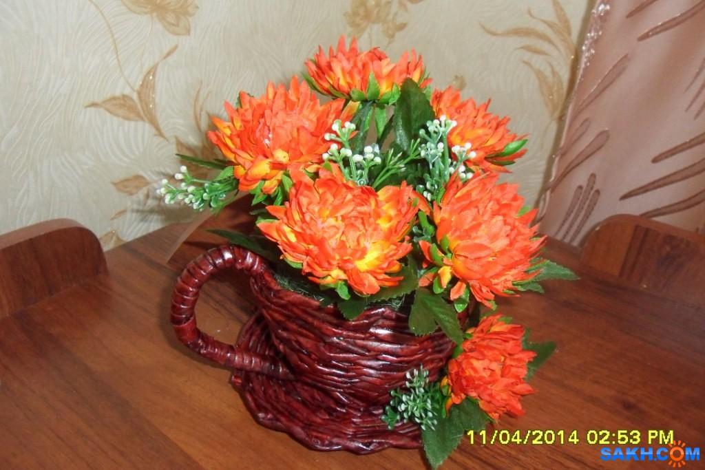 Ksiva: цветущая чашка