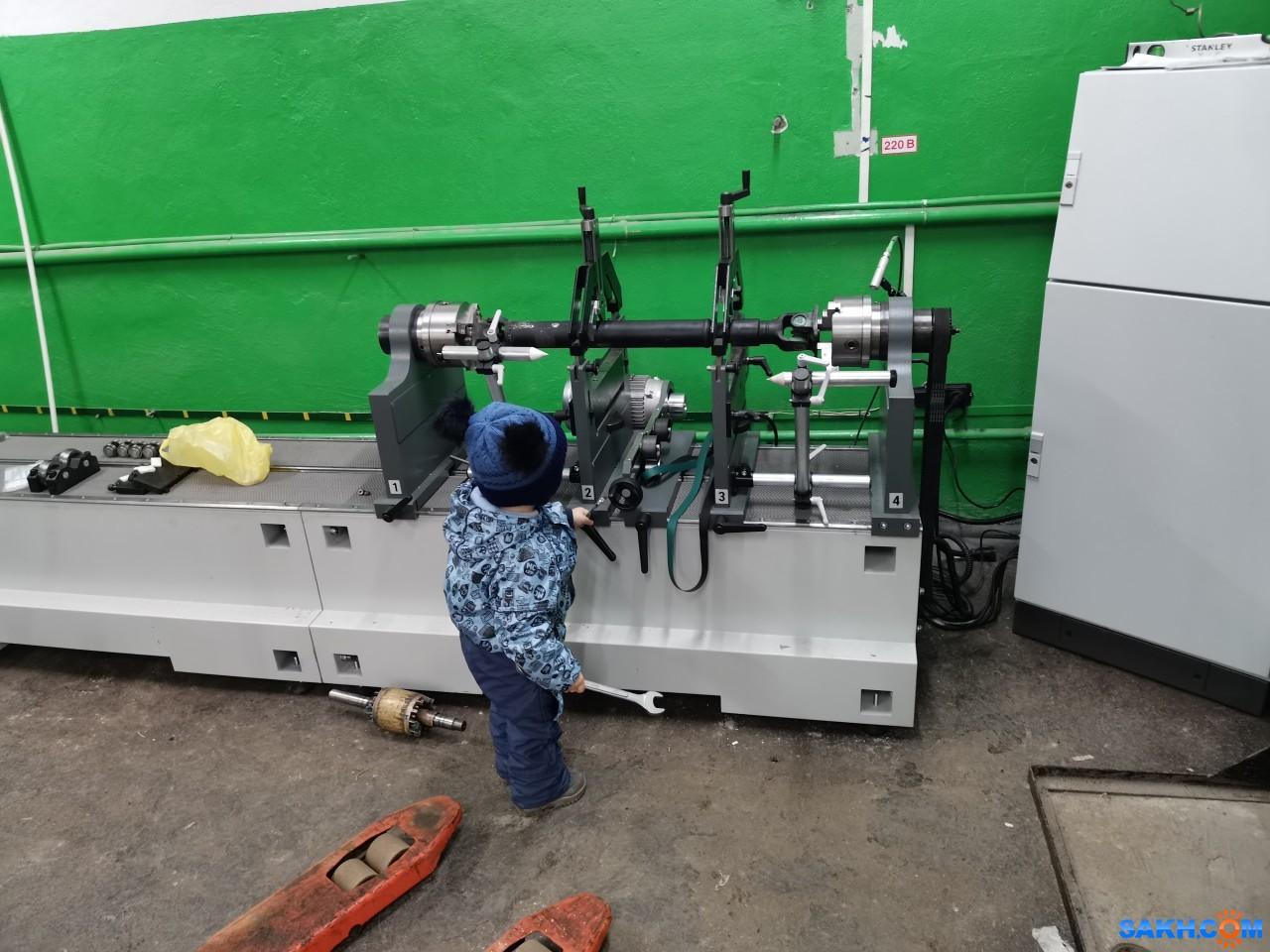 serg1004: специалист по балансировке роторов, карданных валов.
