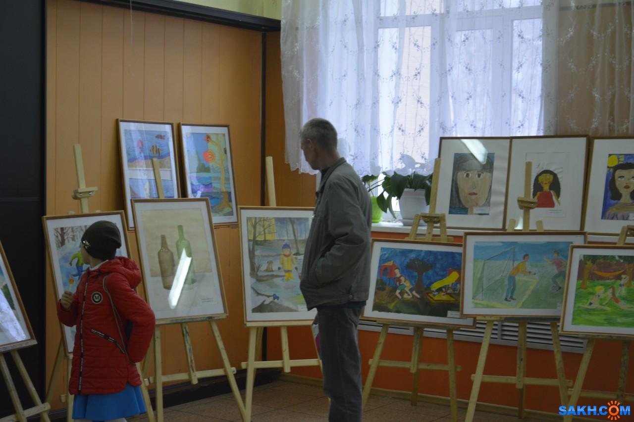 ДШИ_Смирных2018: Выставка юных художников