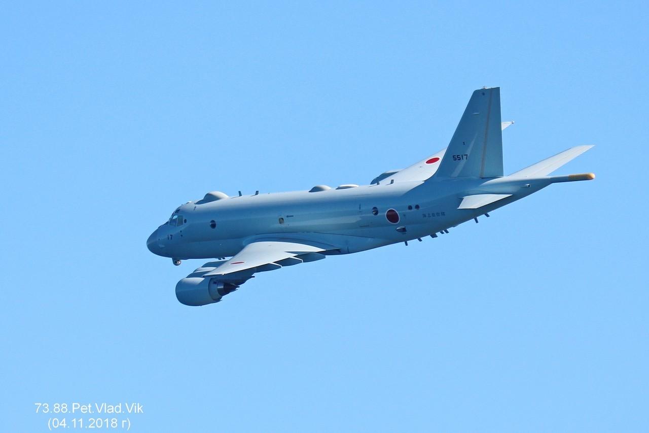 7388PetVladVik: Самолет береговой охраны Японии.