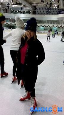 несмеяна: на коньках...