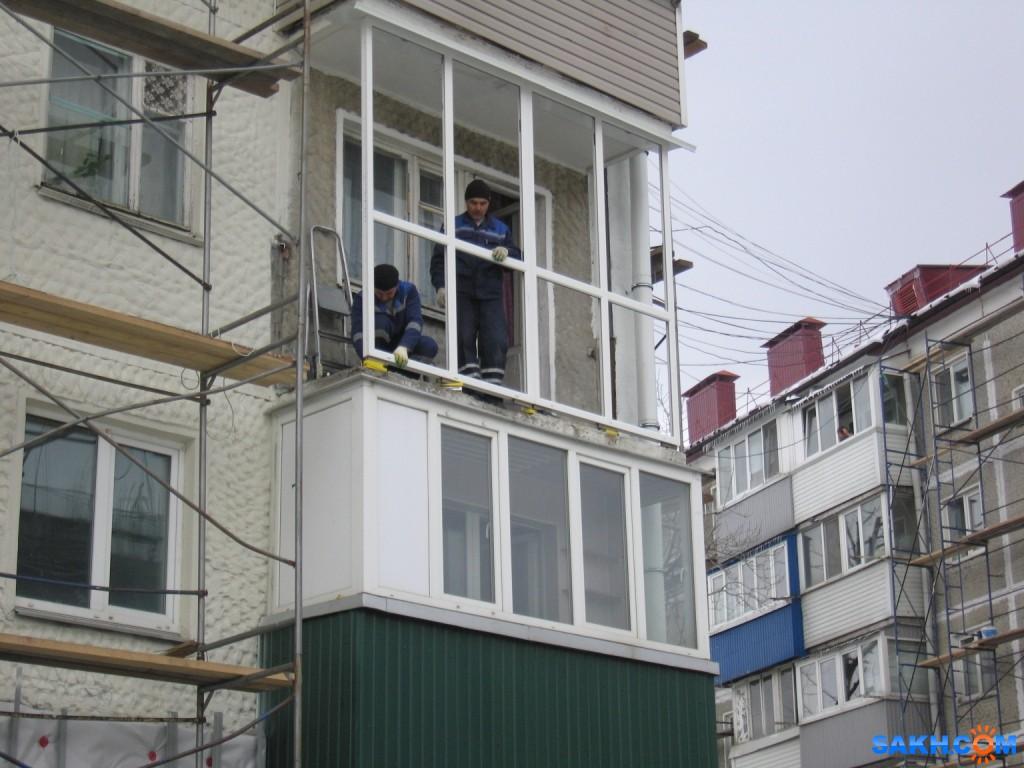 Инвикта: монтаж балкона