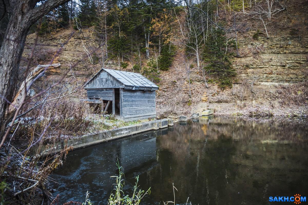 IVANICH: Старый водозабор на реке Невельская.