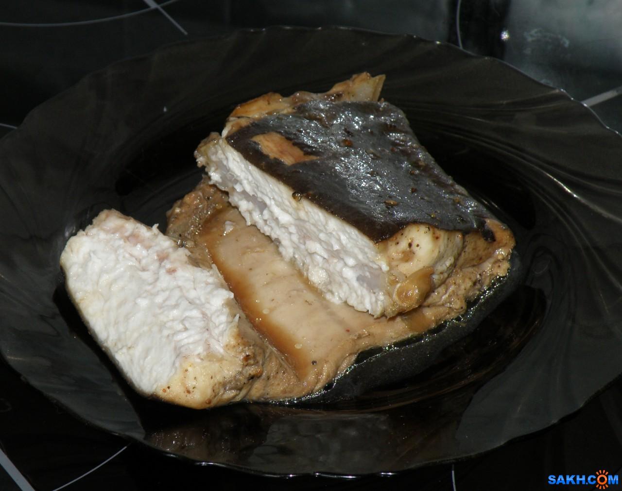 tasya: Акула (катран) на луковой подушке, запеченная в фольге