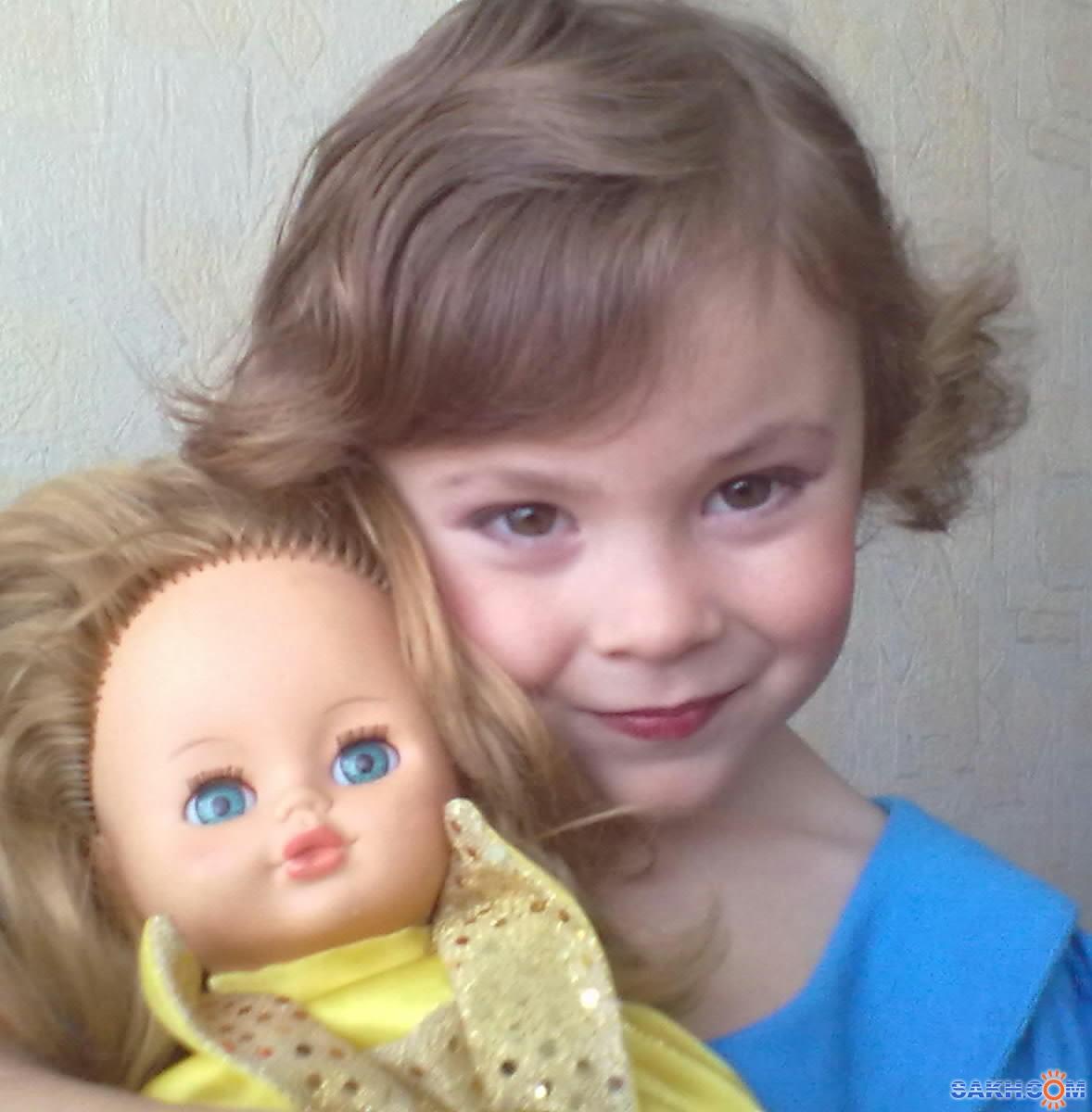 борзой-ким: моя кукла