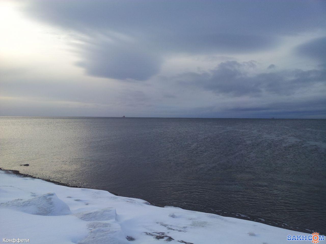 Конффети: Залив Анива