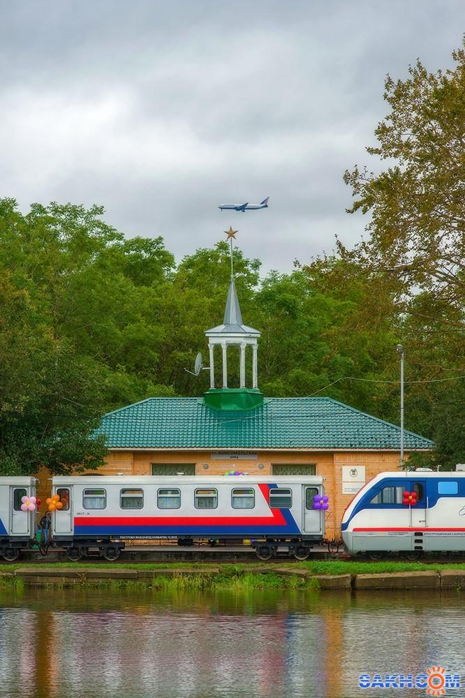 VladimirE2010: Детская железная дорога.