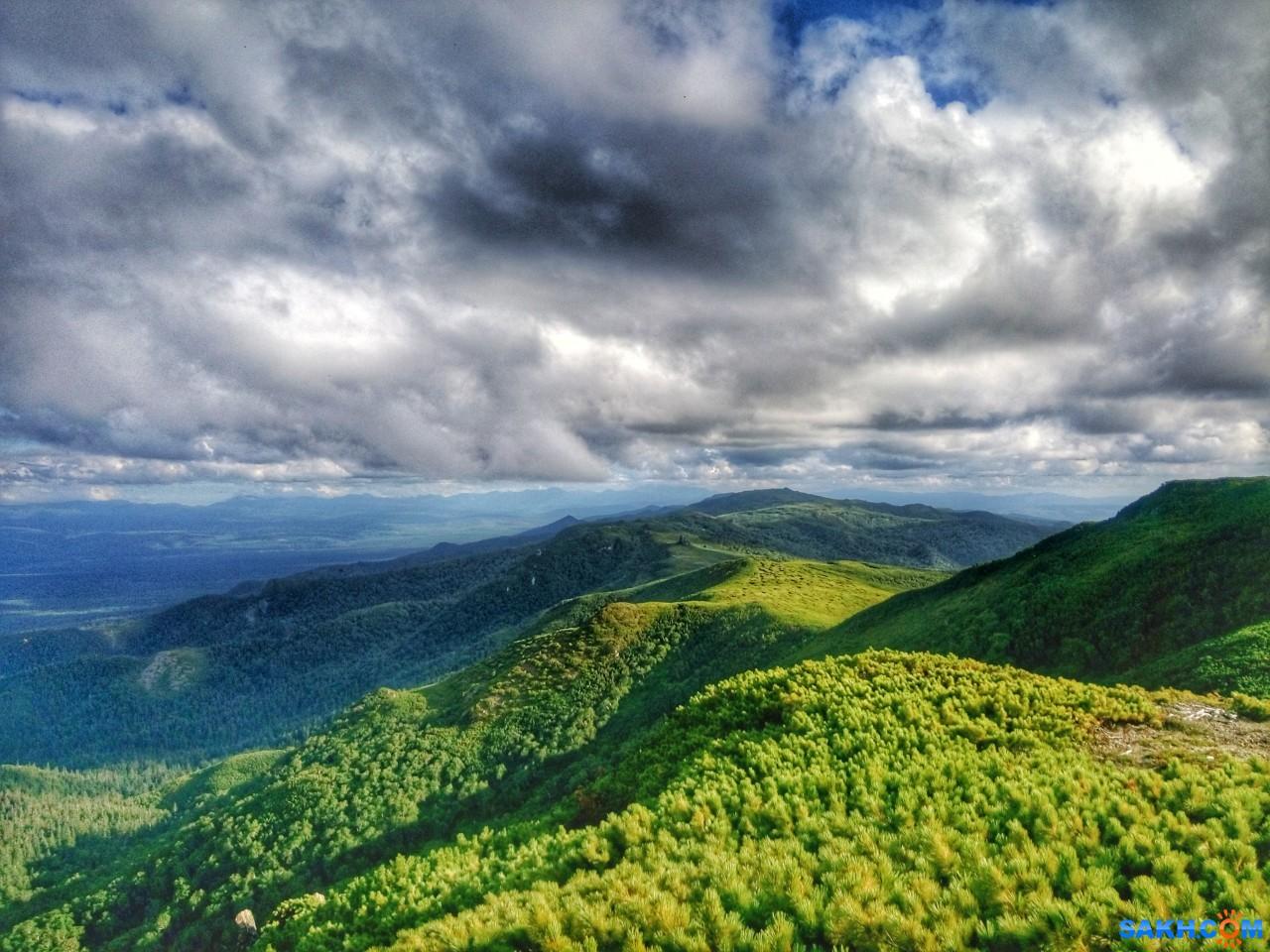 uver: Гора Лопатина с Набильского хребта