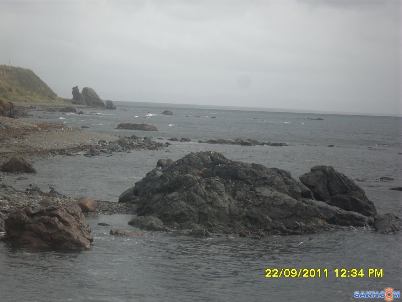аленка-сахалинка: море