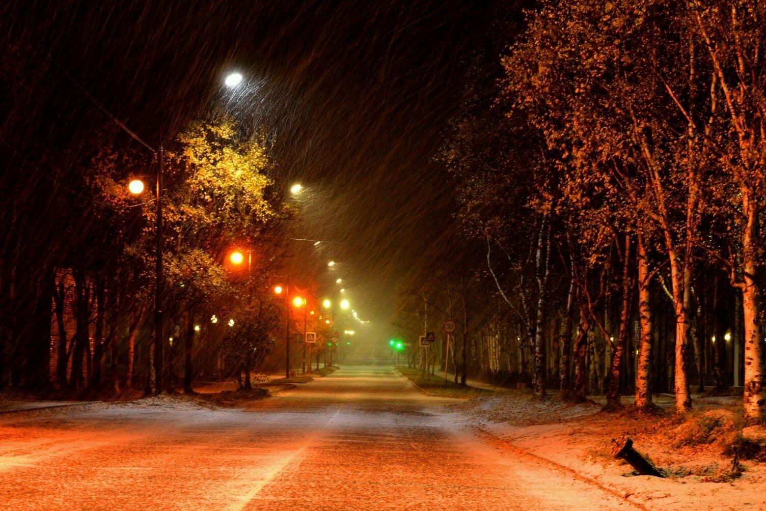 КЕС: Первый снег.