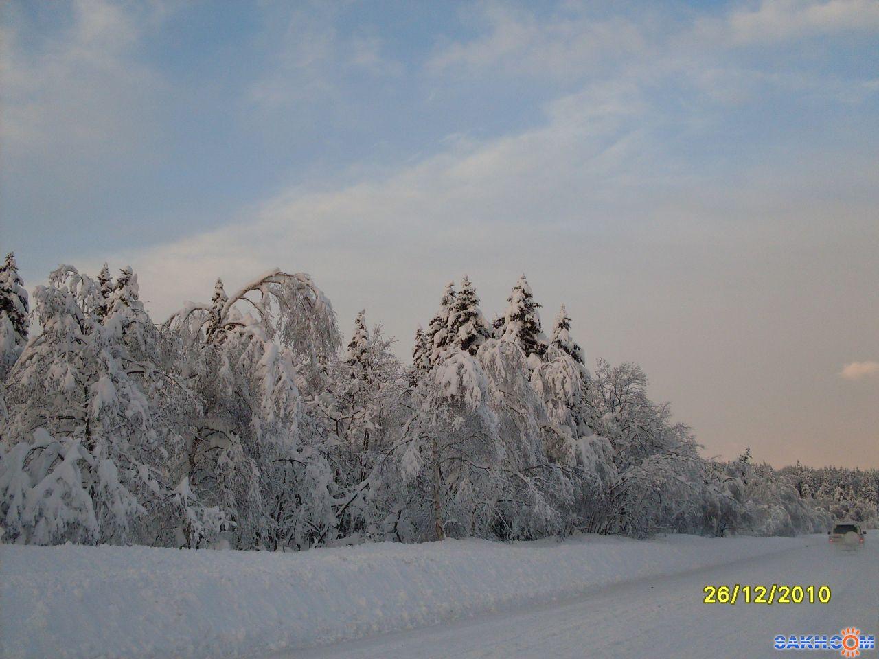 mrnsin: Южно-Сахалинск-Углегорск.Покатушки после циклона