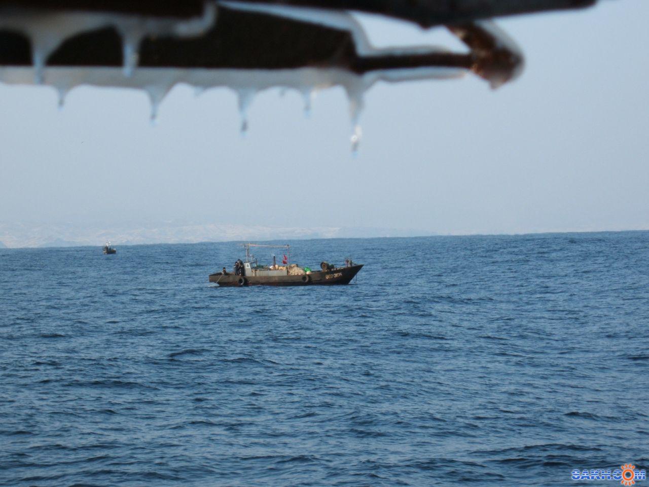браконьер: северокорейцы,25миль до берега