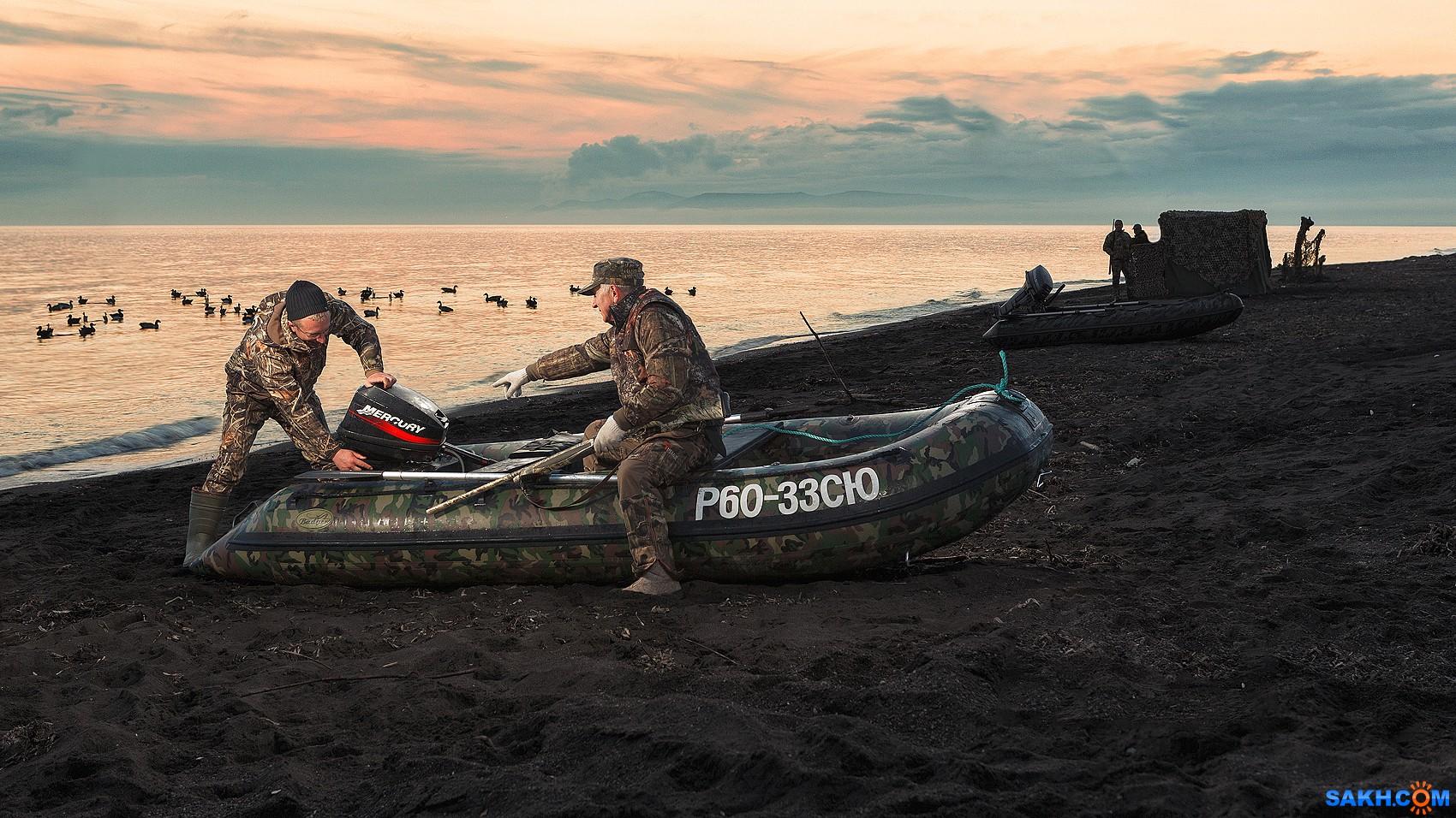 sisaiki: На охоте  с лодкой