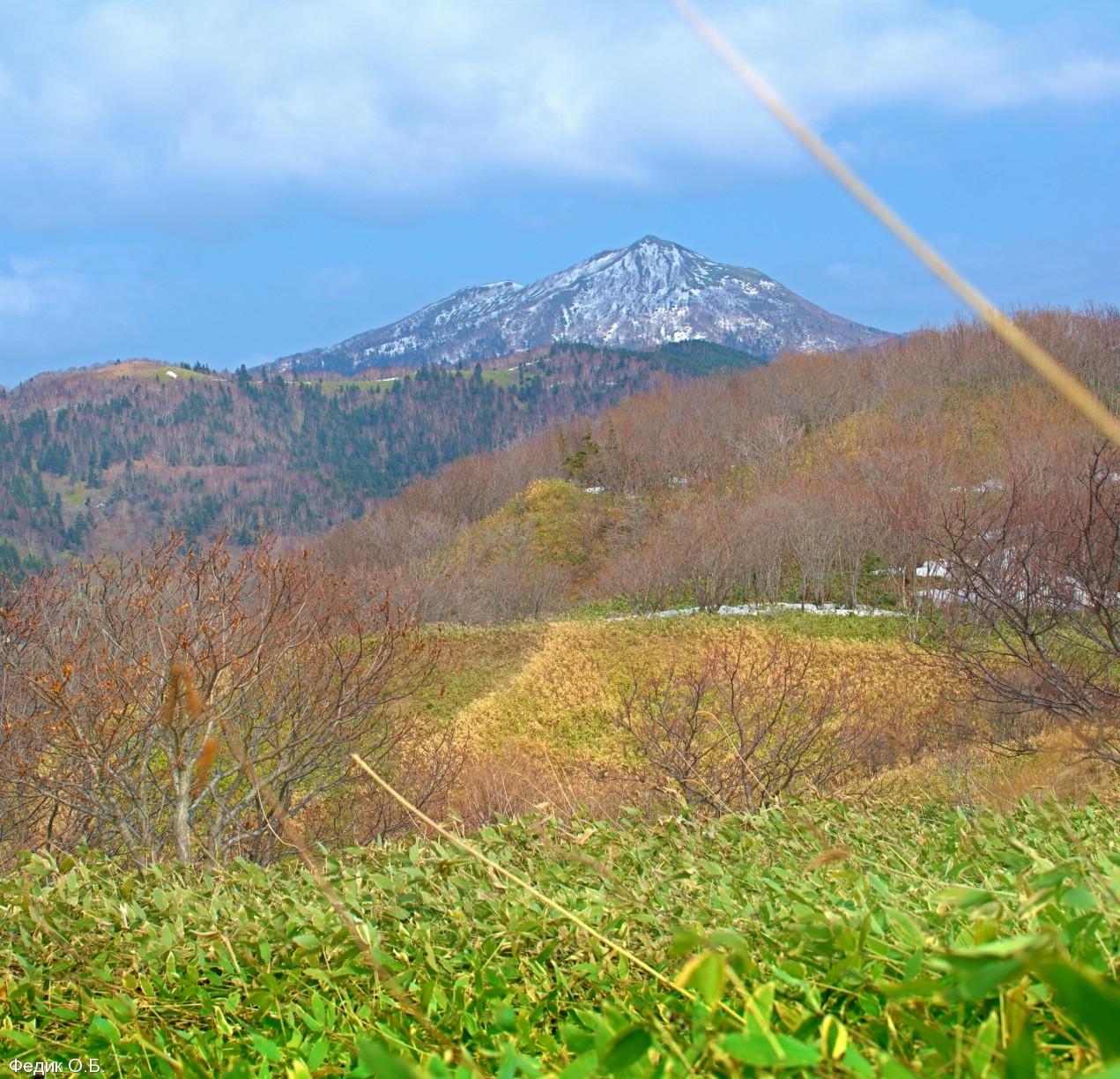 spartak1: Яблочное Сахалин     гора Бернизет