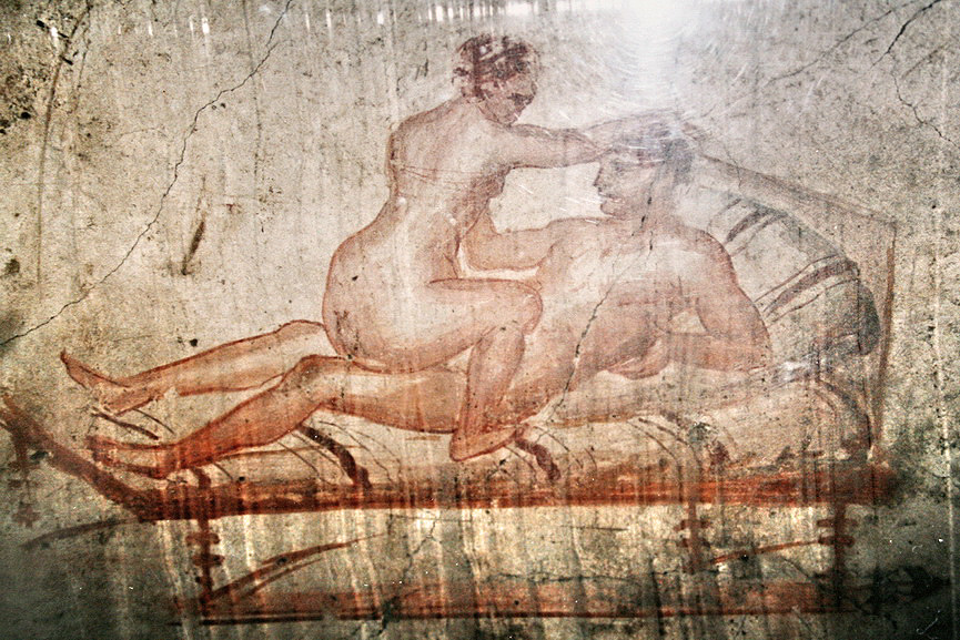 Pompeii erotic graffiti