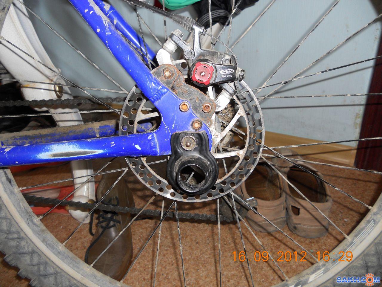 Как из переднего колеса сделать заднее на велосипеде
