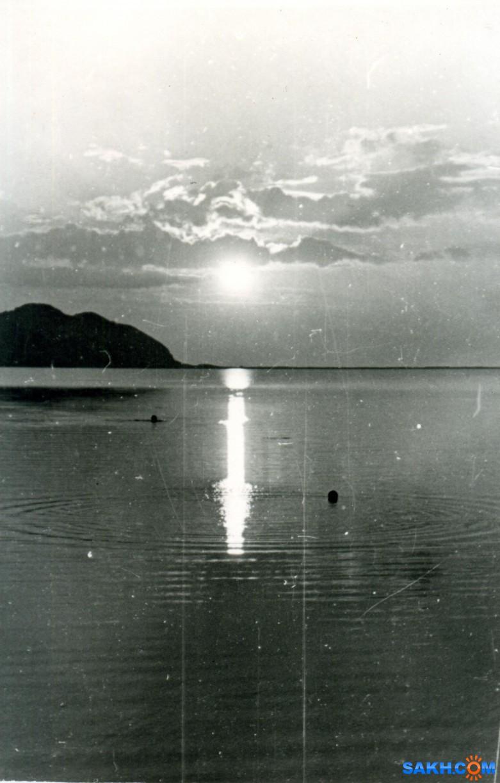 maren: Курилы,1963 год, оз. Лагунное. Курильский пейзаж.