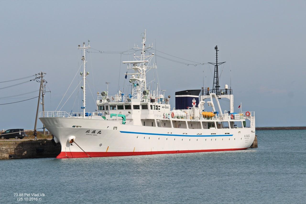 7388PetVladVik: HOKUHO  MARU.     (IMO  9234161,  MMSI  431028000,  CS  JLRE).    Порт Отару.
