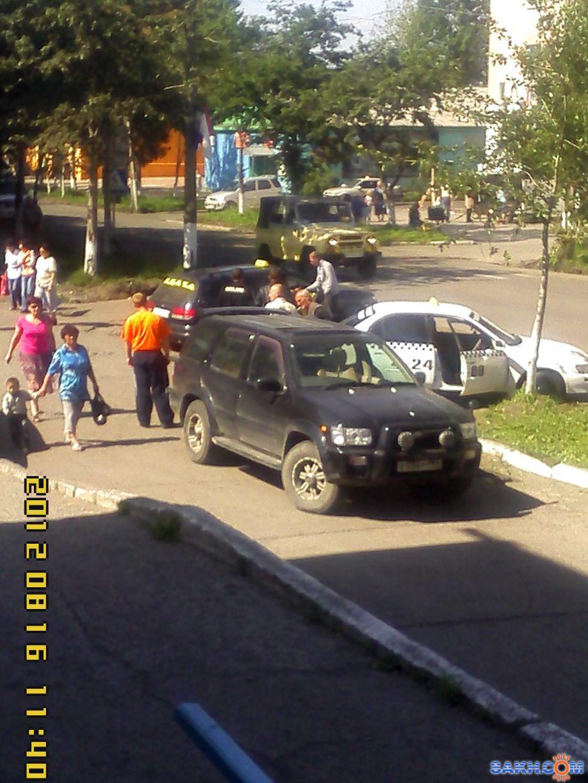 KPECT: Припарковался