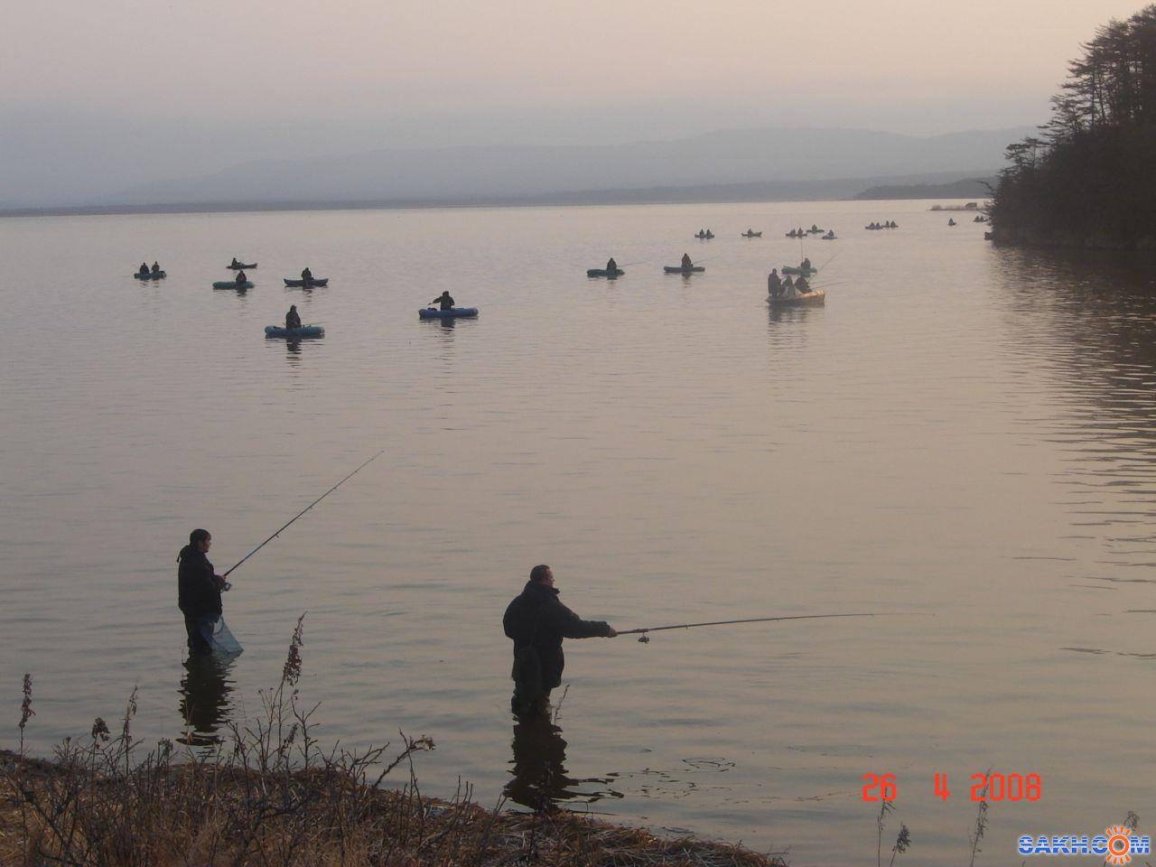 вафлюшечка: Красногорск, озеро, рыбаки