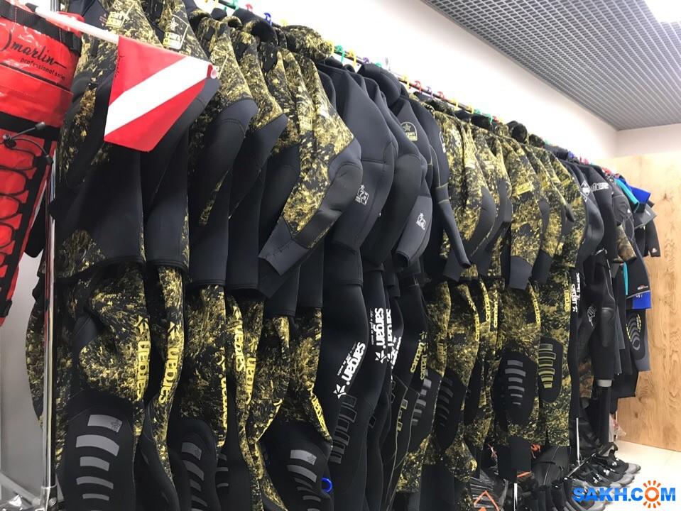 Поступление гидрокостюмов и аксессуаров для подводной охоты