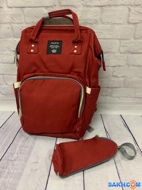 Поступление функциональных сумок-рюкзаков для мам