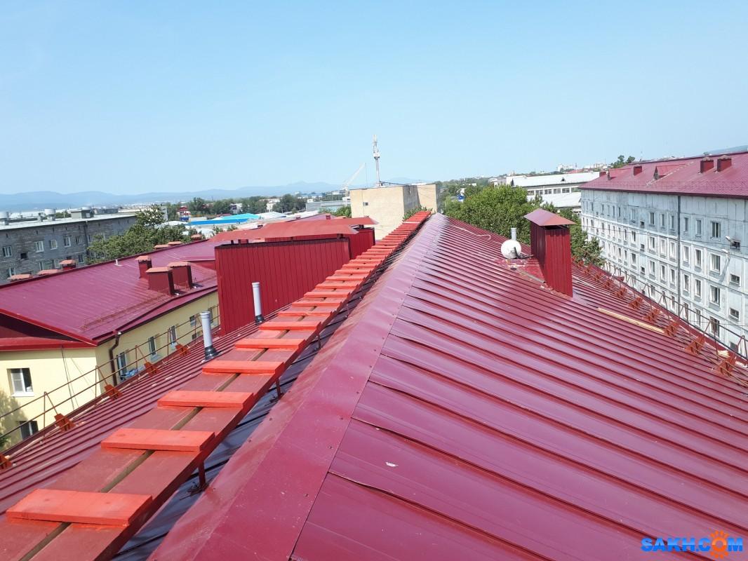 Жителей дома №61-А на Пограничной устроило качество капремонта крыши