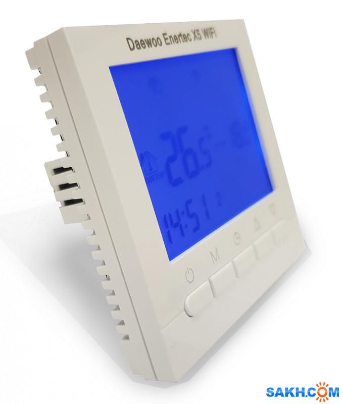 Терморегулятор Х5 с WiFi управлением со скидкой