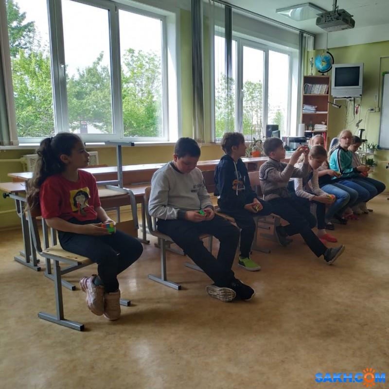 Открытие школы спидкубинга